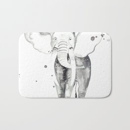 aquarela Elefante Bath Mat