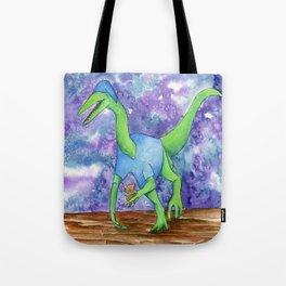 Bedtime Dinosaur - Oliver Tote Bag