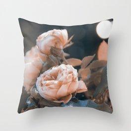 warm evenings Throw Pillow