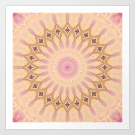 Mandala Hippie Art Print