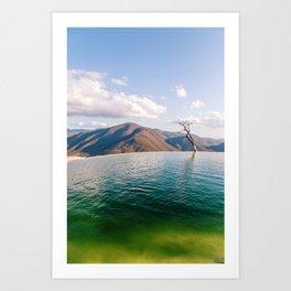 Lake in the Sky Art Print