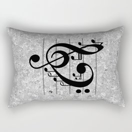 Love Music Rectangular Pillow