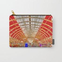 Paddington Railway Station Pop Art Carry-All Pouch