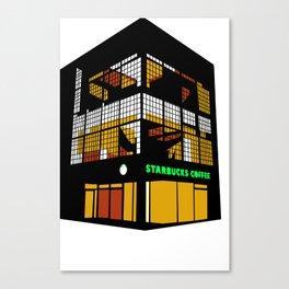 Tokyo Starbucks Canvas Print