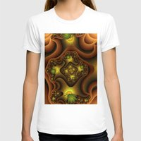 insects T-shirts featuring Abstract Insects, Fantasy Fractal by gabiw Art