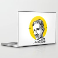 tesla Laptop & iPad Skins featuring St. Tesla by Kexit guys