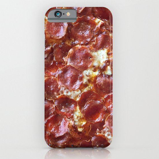 Pepperoni Pizza iPhone & iPod Case