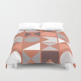 Mid Century Modern Geometric 18 Duvet Cover
