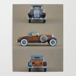Mini cars, photography Poster
