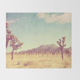 Joshua Tree photograph, desert print, No. 189 Throw Blanket