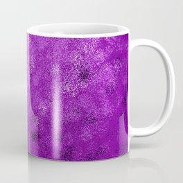 Purple Spray Paint Abstract Coffee Mug