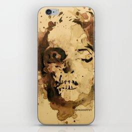 Zombie Marilyn by MrMAHAFFEY iPhone Skin