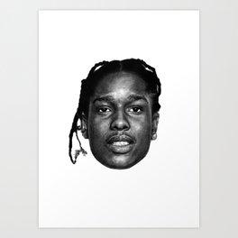 A$AP ROCKY PORTRAIT Art Print