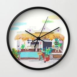 In Lululu island Wall Clock
