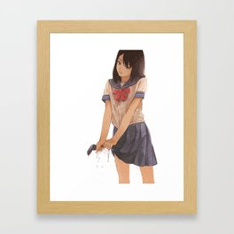 Sailor suit Framed Art Print