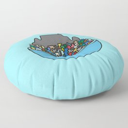 City Bowl Floor Pillow