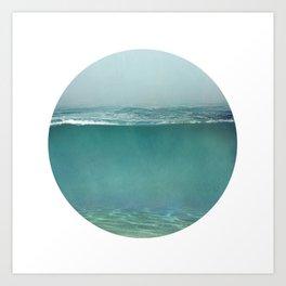 Under Water 2 Art Print