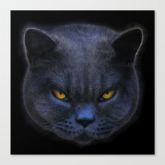 Cross Cat! Canvas Print