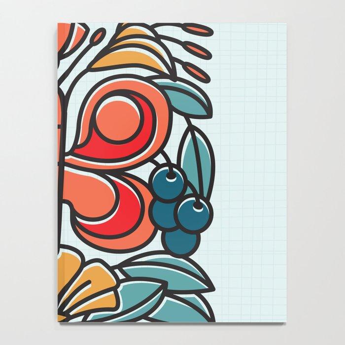 Butterfly tile Notebook