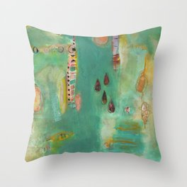 And Then There Were Four Throw Pillow