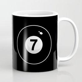 Black Seven Coffee Mug