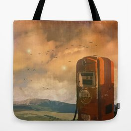 old fuel pump Tote Bag
