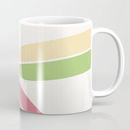 Abstract Retro Color Surfboards Coffee Mug