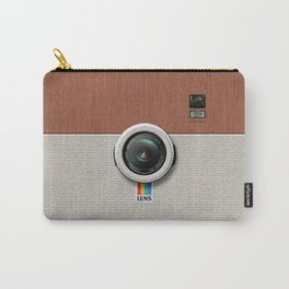 Lens PW300 - Wooden Plait Camera Carry-All Pouch