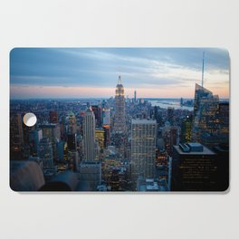 New York City Dusk Cutting Board