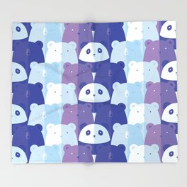 Sleuth of Bears Throw Blanket
