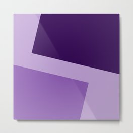 Two ways (Purple series) Metal Print