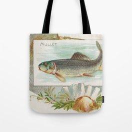 Vintage Atlantic Mullet Fish (1889) Tote Bag