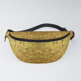 Deep gold glass mosaic Fanny Pack
