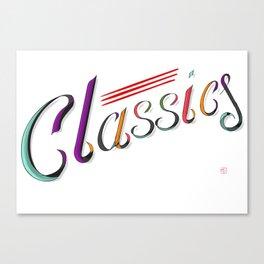 Classics Canvas Print