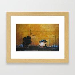 The Hobart Station Framed Art Print