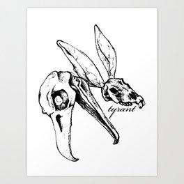 "TYRANT ""Sketchy Skulls"" Art Print"