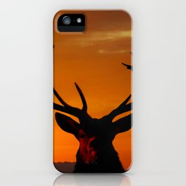 Highland Stag iPhone Case
