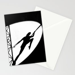 aerial acrobatics Stationery Cards