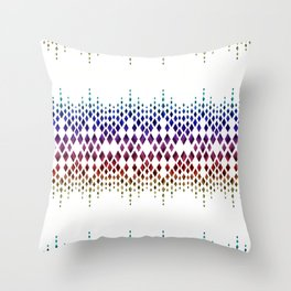 Colorful geometric pattern. Throw Pillow