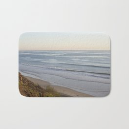 beacons at sunset  Bath Mat
