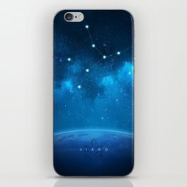 Virgo: Astrological Art iPhone Skin