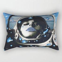Blue Below Rectangular Pillow