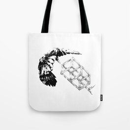 Bird Box Tote Bag