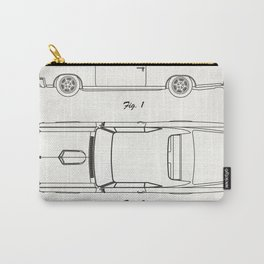 Pontiac GTO old canvas Carry-All Pouch