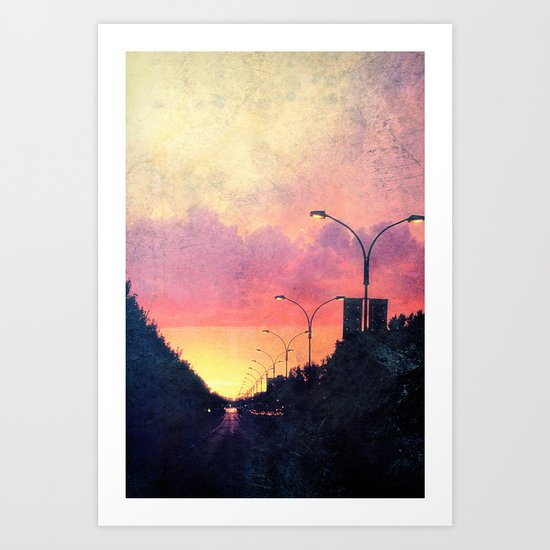 The End of Days. Art Print