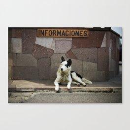 Informaciones Canvas Print