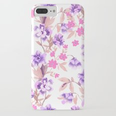 Garden Journal Purple iPhone 7 Plus Slim Case
