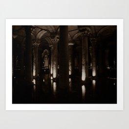 "Basilica Cistern (""Sunken Palace"", Istanbul, TURKEY) Art Print"