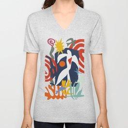 Inspired to Matisse Unisex V-Neck