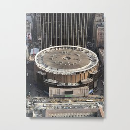 Penn Station NYC from the 55th Floor Metal Print